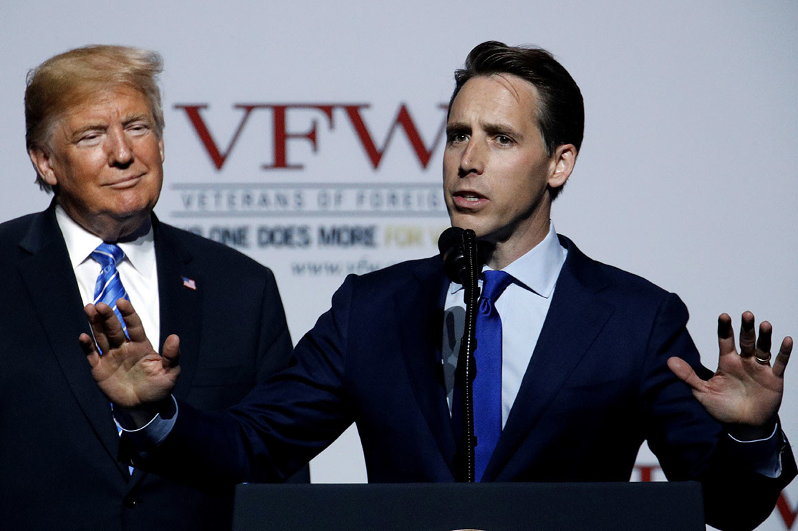Charles Jaco: The potential president more dangerous than Donald Trump — Josh Hawley
