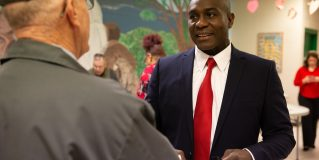 Reed cites record in re-election bid