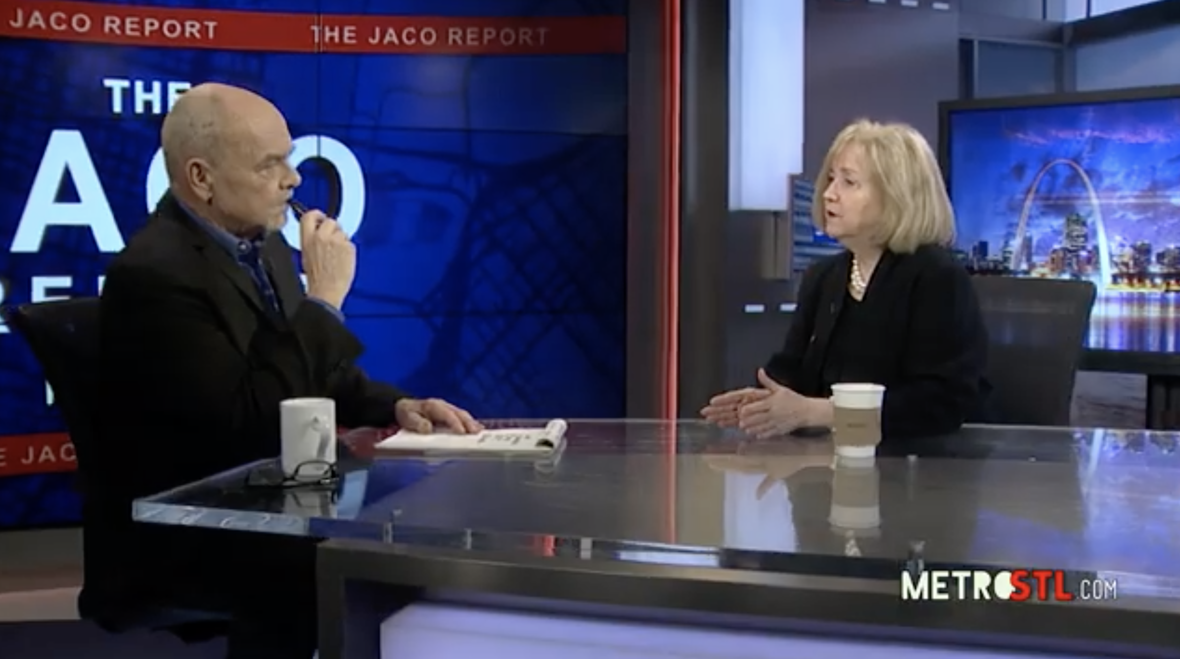 The Jaco Report, Ep. 7: Mayor Lyda Krewson on police department scandals, the city-county merger and airport privatization