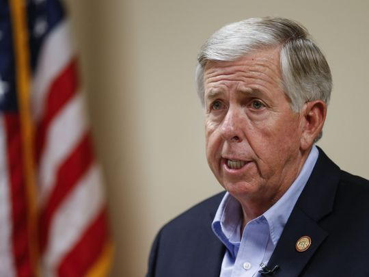 Parson meets here on gun violence, offers help but no change to laws