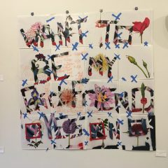 Text-focused art show opens at Cherokee Street Gallery
