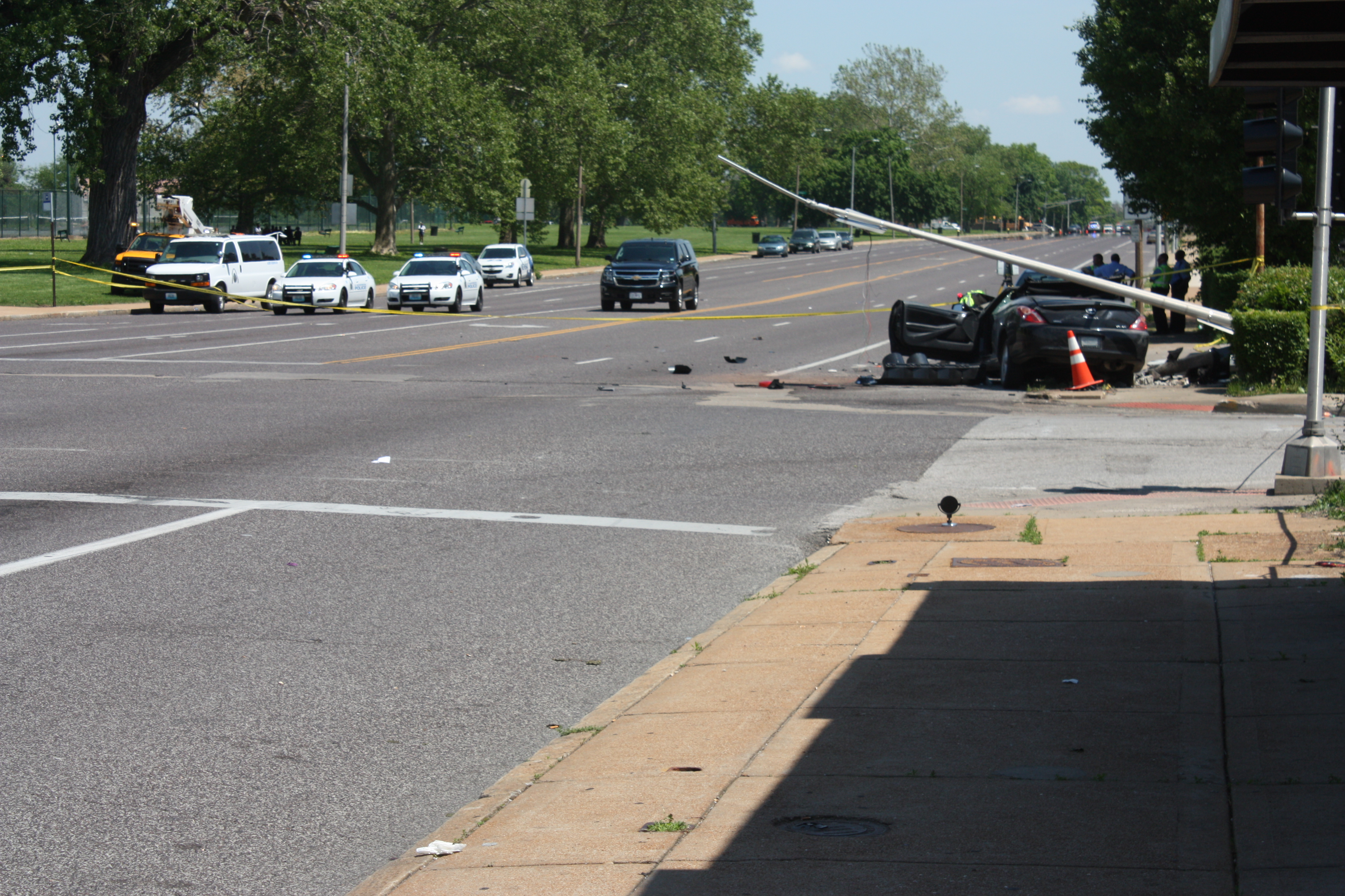 Crashes on Natural Bridge draw attention to MoDOT median plan