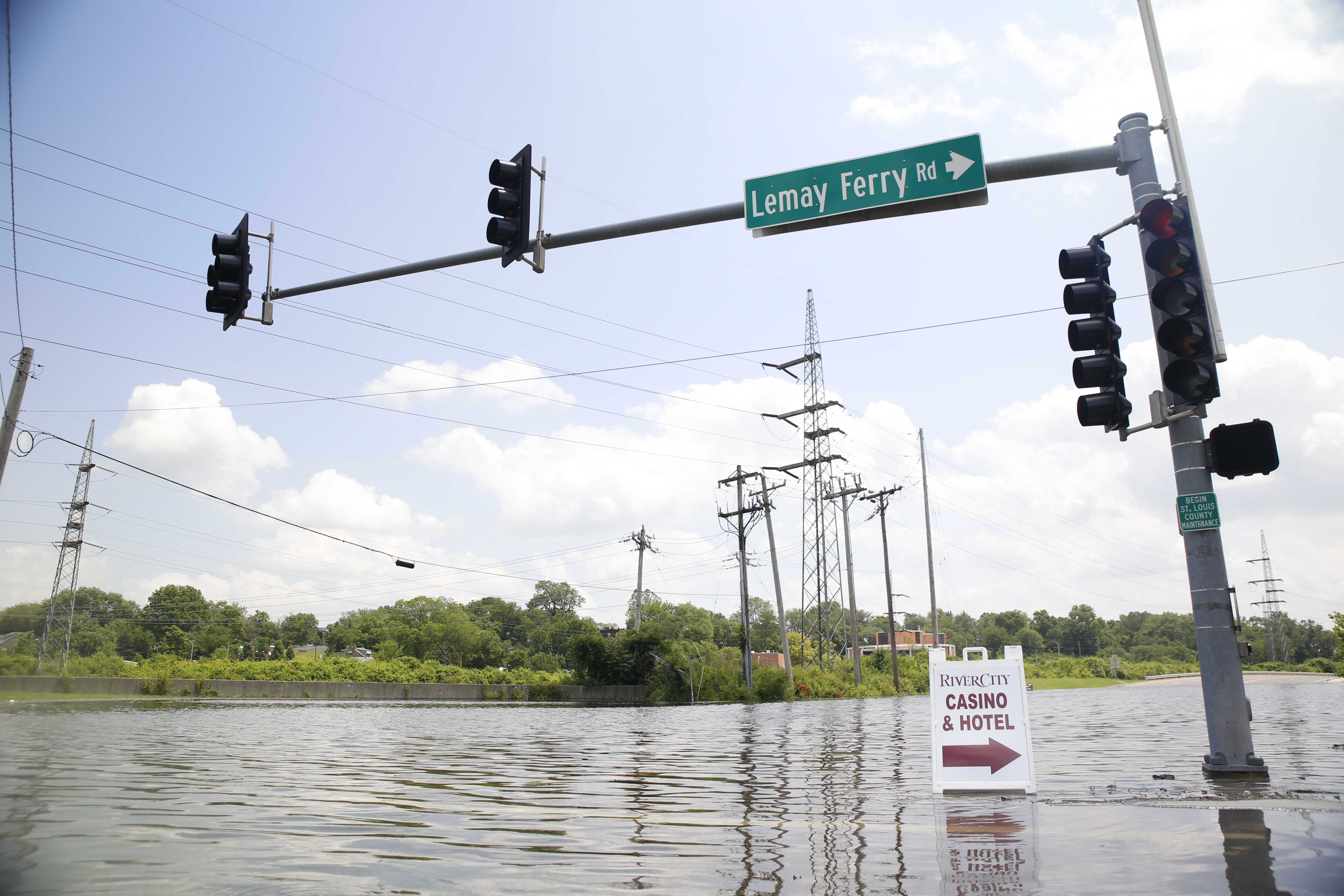 City can handle predicted River des Peres crest, official says