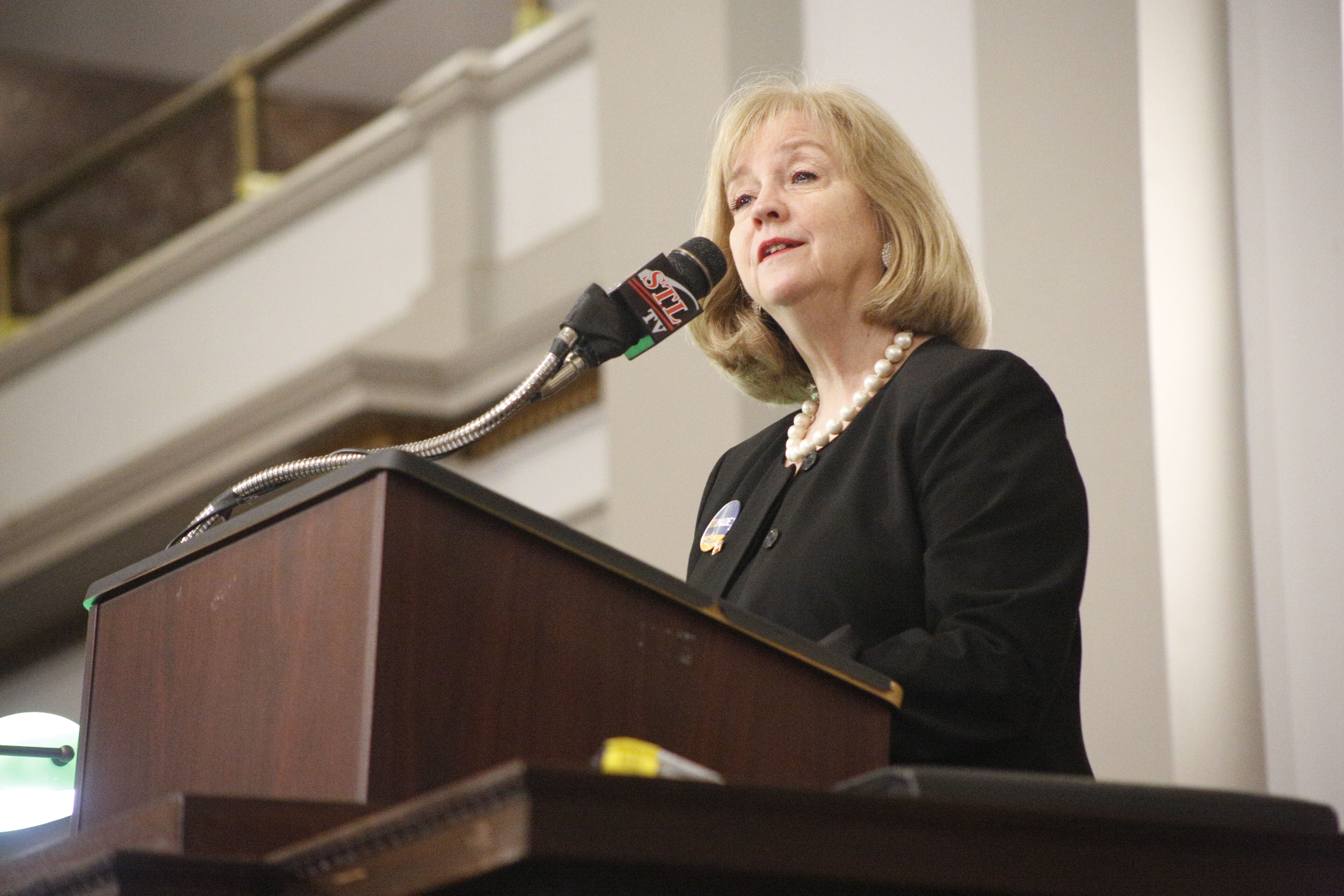 Krewson offers upbeat State of the City address to aldermen