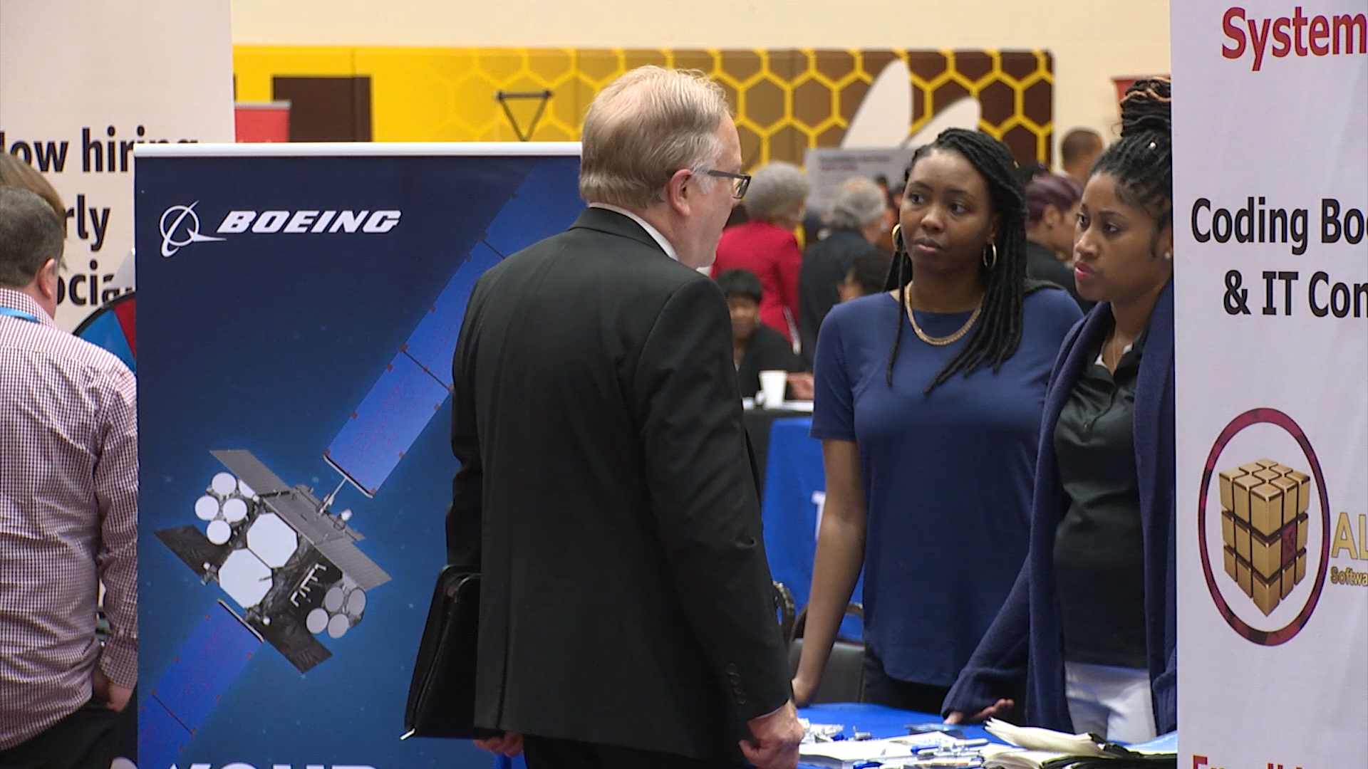 Job fair looks to place hundreds into new careers
