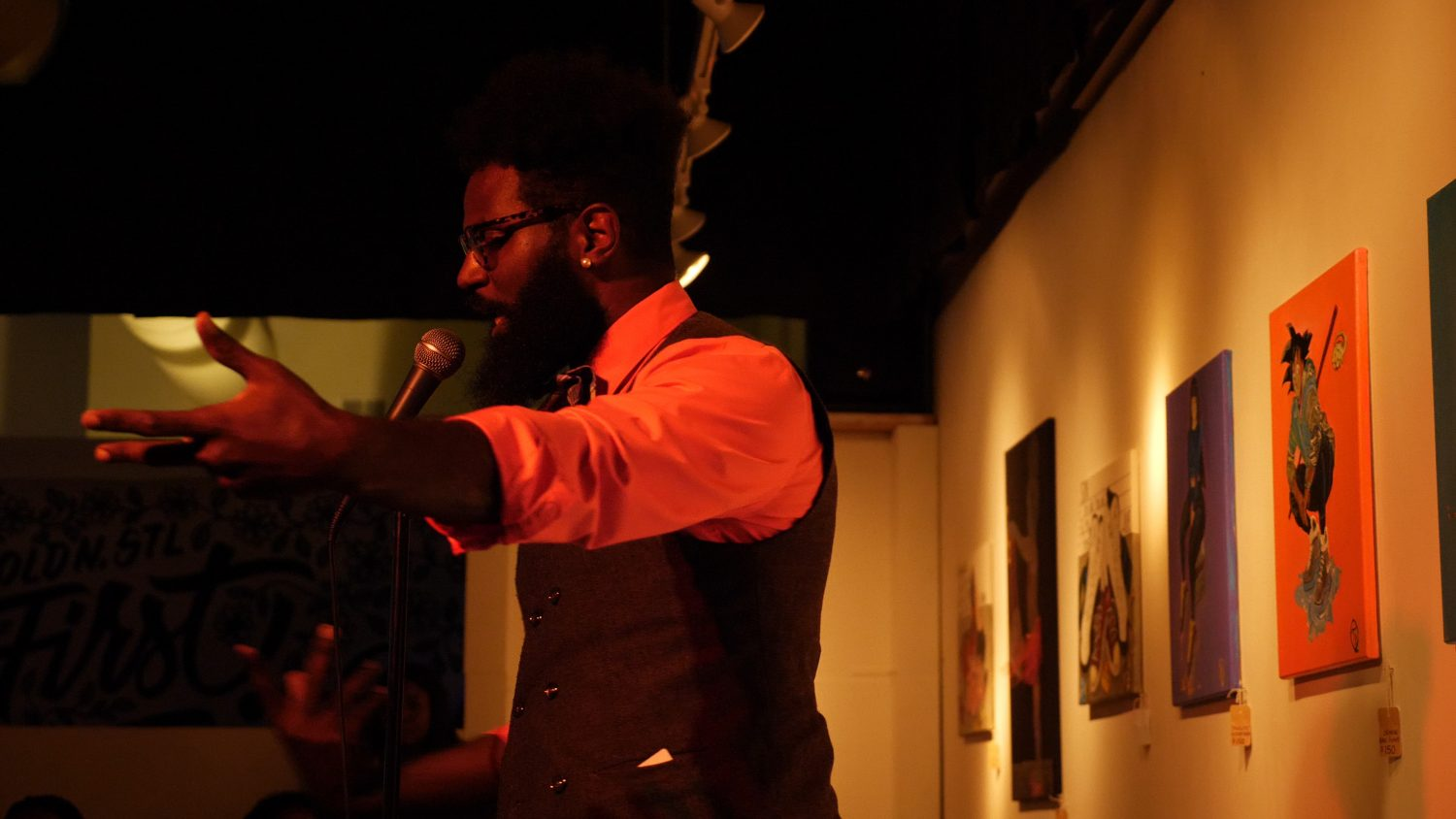 Lyrical Therapy lets poets be heard, network in north St. Louis
