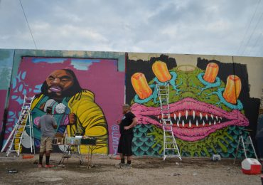 Hundreds of street artists brighten riverfront in Paint Louis