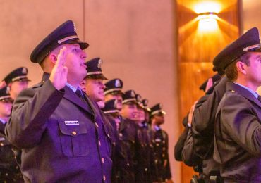 With pride, 28 new officers join shorthanded city police department