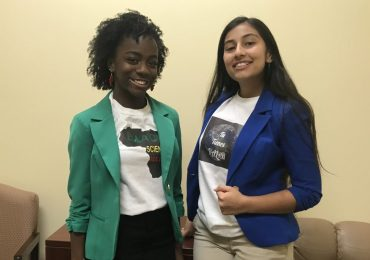 Two teens promote science, bridge cultures with Afrospanic Atmosphere