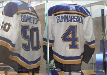 St. Louis Blues assertion of 'History Made' is backed up by Missouri History Museum display