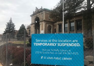 Closed Cabanne Library awaits renovation, better security