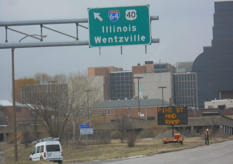 Five downtown I-64ramps closed