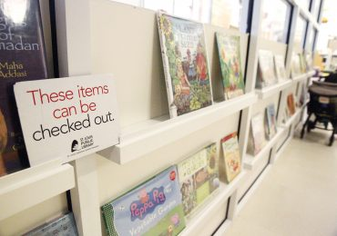 Library writes 'The End' to fines on overdue books