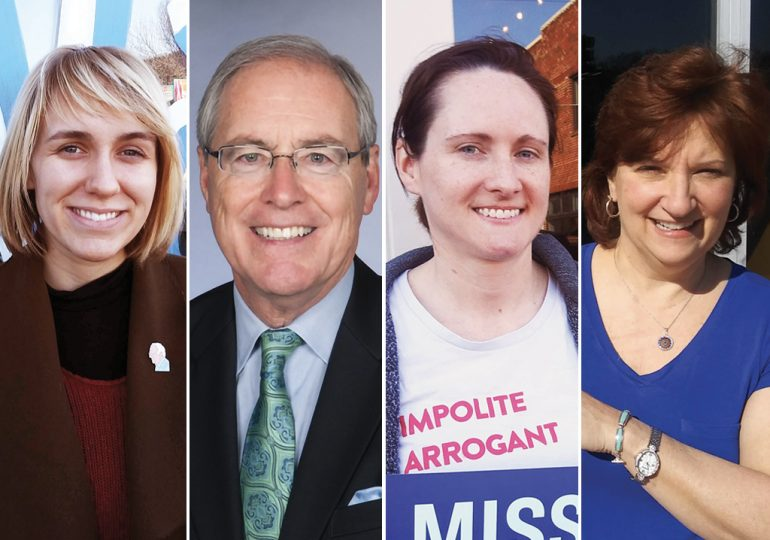 Volunteers put presidential hopefuls' boots on the ground