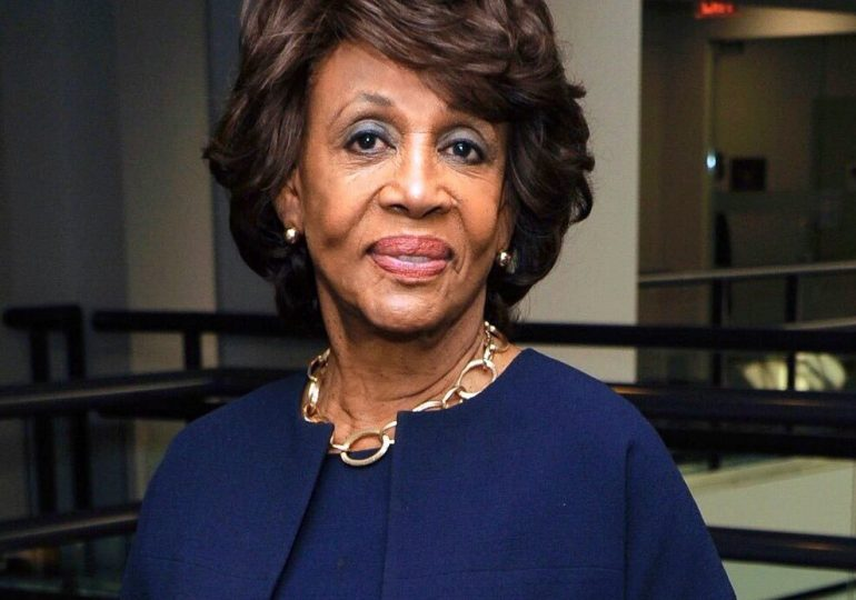 Waters dedicates Congress' relief plan to St. Louis sister dying of coronavirus