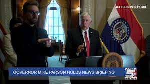 Parson extends stay-home order to May 3, then 'back to work'