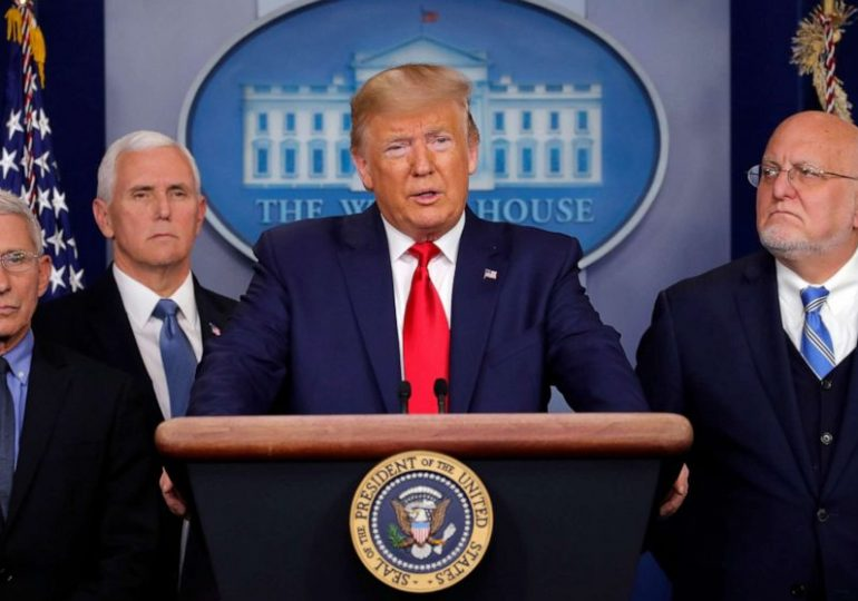 Trump says he, not governors, will decide on easing virus guidelines