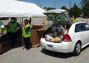 Urban League food giveaways help 13,000 families, hope for more