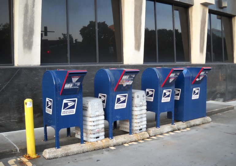Postal Service warns states about mail voting