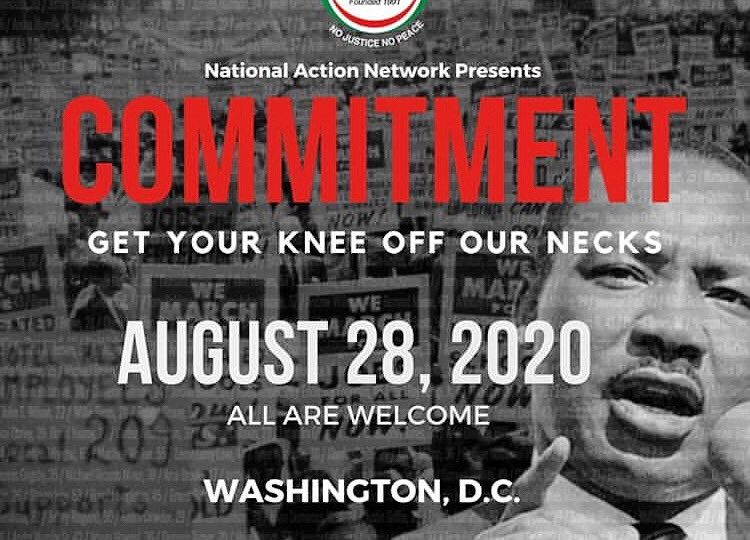 March on Washington reworked to comply with virus rules