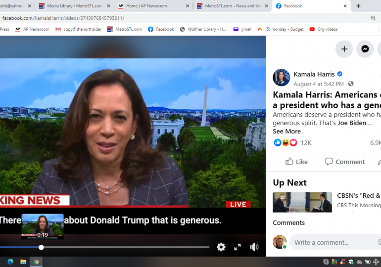 'Do something:' Harris' rapid rise driven by call to action