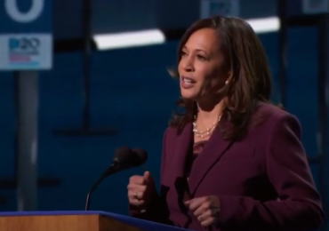 Harris makes history in accepting VP nomination