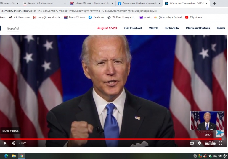 Biden vows to unite an America mired in crises