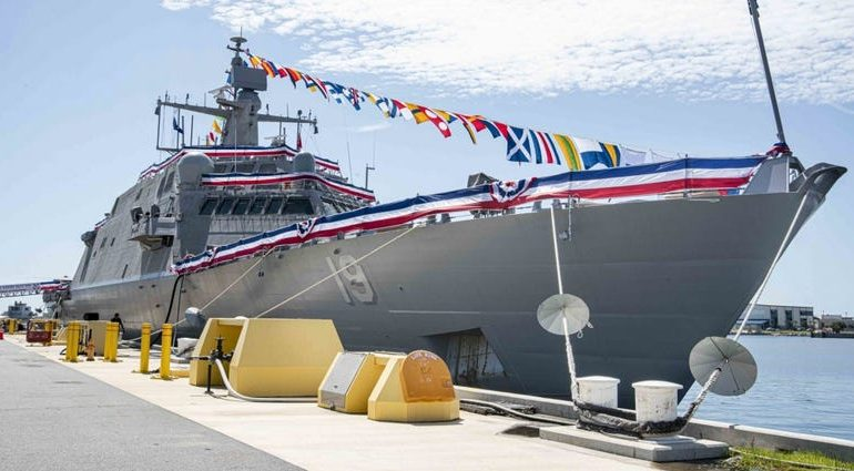 USS St. Louis is commissioned as new Navy combat ship