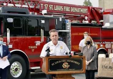 City honors first responders as nation marks 9/11