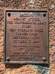 Jefferson City takes down disputed plaque to Confederate general