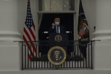 Trump makes first public appearance since hospital