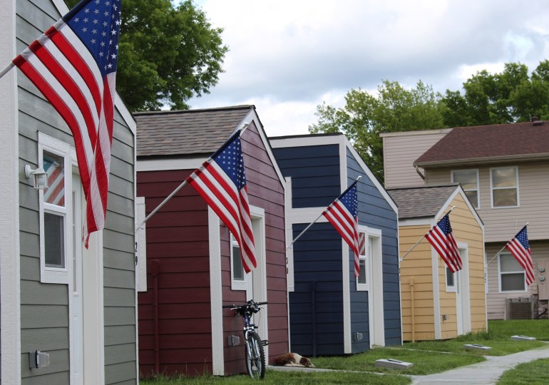 'Village' of tiny homes will soon house veterans here