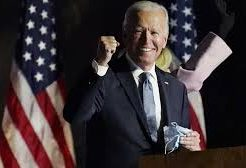 Biden secures enough electors to become president