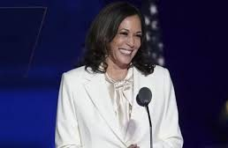 Harris pays tribute to Black women in first speech as VP-elect