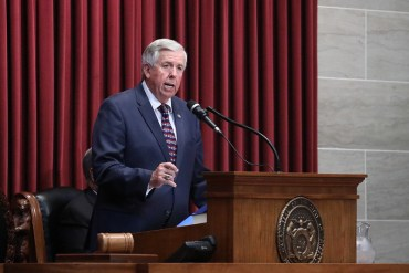 Parson now asks lawmakers to drop COVID liability bill