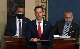 'Great damage': Republicans recoil from Hawley