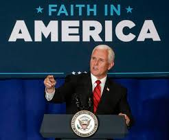 In Pence, evangelicals had their '24-karat-gold' man